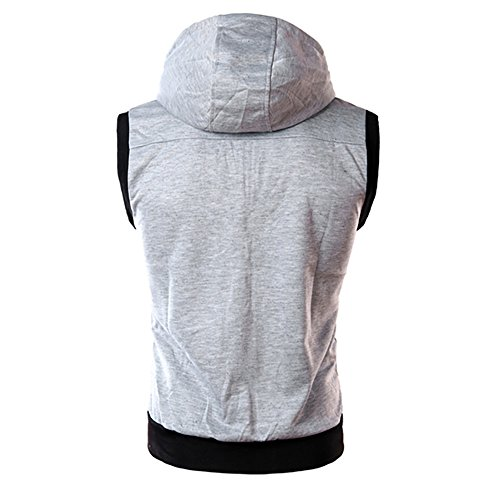 Top Shirt Capuche Hommes Courtes Blouse Gris Mode shirt Hauts Chemisier De Chemises T Pure Printemps Nouveau Pour À Casual Manches Décontracté Npradla Couleur UYwvyz