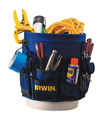 IRWIN Tools Pro Bucket Tool Organizer (420001) (Pocket Bucket 56 Organizer)