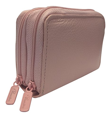 Credit Coin: Buxton Womens Leather Mini Accordion Wizard Wallet, Credit