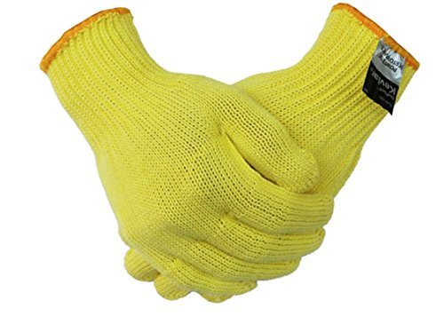 - Simple Glove but Fully Protection: made of 100% Kevlar, possible the lightest weight, highest performing gloves