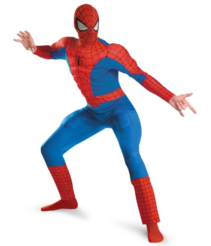 Muscle Man Legs Costume (Spider-Man Deluxe Muscle Adult Costume - XX-Large)
