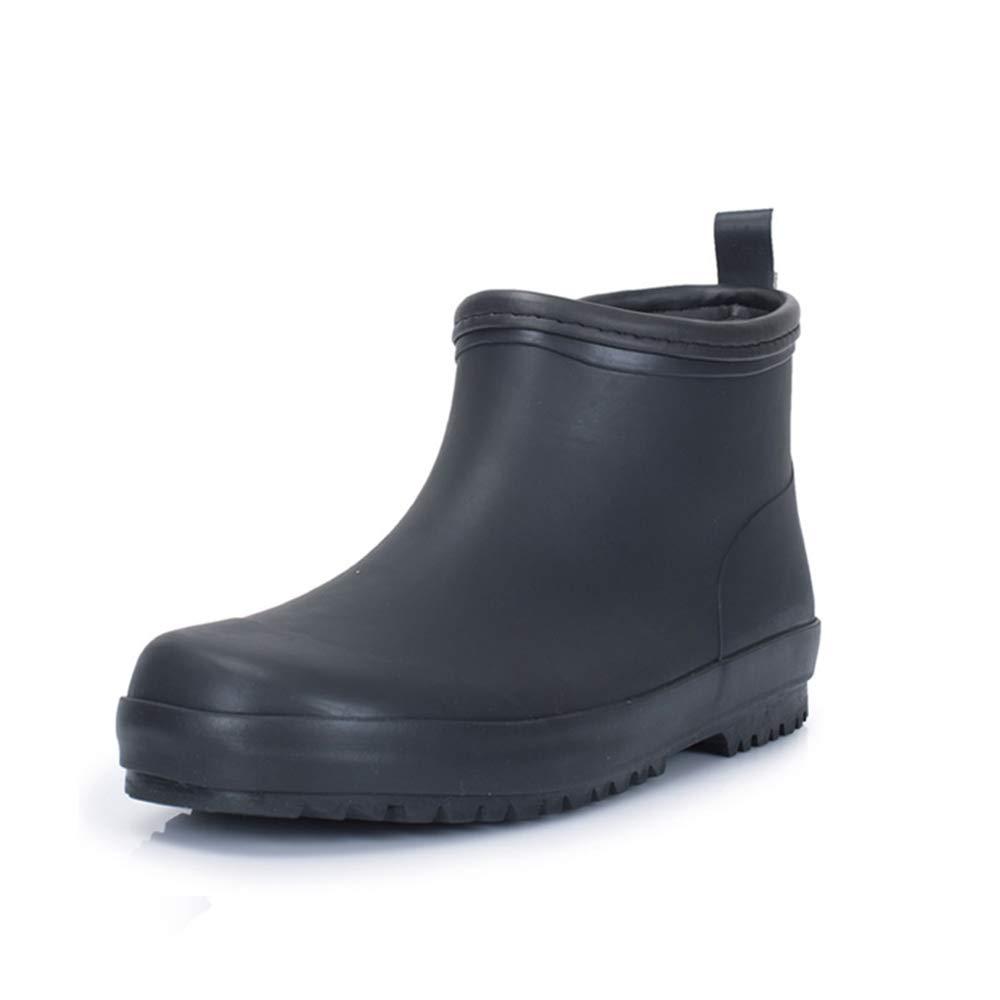 Belingeya Regenschuhe für Herren Wasserdichte Schuhe Herren Kurze Stiefel Wasser Schuhe Herren Damenschuhe Wasserdichte Anti-Rutsch-Frühling Und Sommer Gummischuhe Schneestiefel für Männer