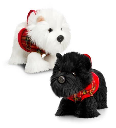 Keel - 30cm Westie & Scottie Handbag Purse 2 Assorted