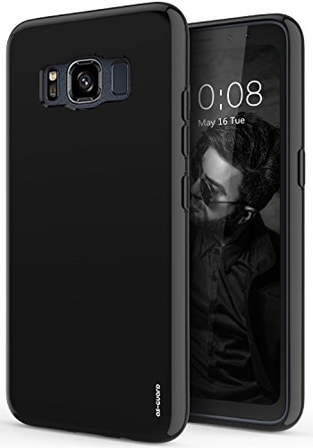 Price comparison product image Galaxy S8 Active Case, As-Guard Ultra [Slim Thin] Flexible TPU Gel Rubber Soft Skin Silicone Protective Case Cover For Samsung Galaxy S8 Active (Black)