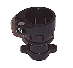 Spyder Clamping Feed Neck - Holes - Black