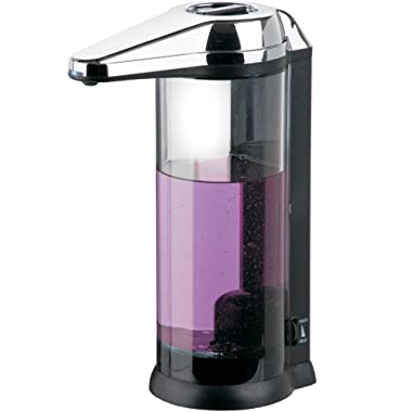Better Living Products Touchless Clear Chamber Hands Free Soap Dispenser
