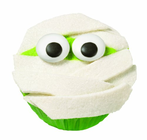 [Wilton 2104-0028 Mummy Cupcake Decorating Kit] (Cute Halloween Decorated Cupcakes)