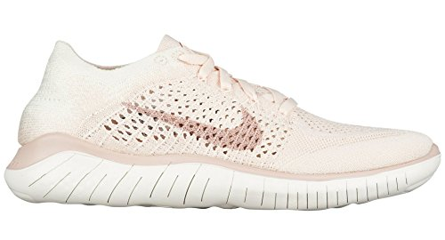 2018 Sail Rust Pink Multicolore Beige Flyknit Sneakers Particle Basses Femme Guava WMNS RN NIKE Ice 802 Free UxqpOWI