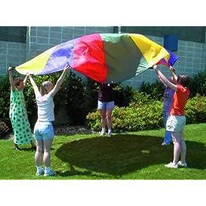 12 Foot Diameter Parachute (for Movement Activities)