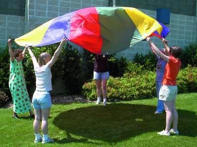 12 Foot Diameter Parachute (for Movement Activities)