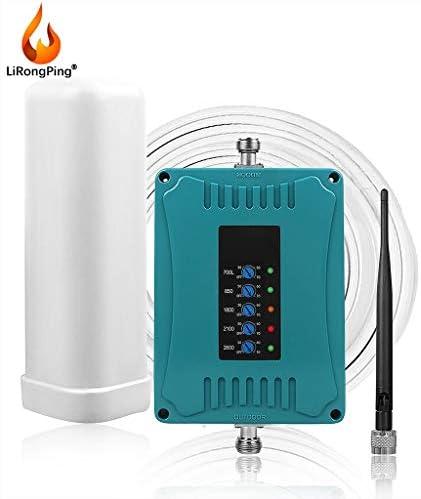 2G、3G、4Gモバイルシグナルブースター850分の700/2100分の1800 / 2600MHzリピーターアンプ携帯電話の信号LTEリピータブースター増幅器
