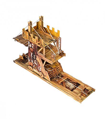 Innovative 3D-Puzzle - Siege Tower - War Games Series 336 Clever Paper UMBUM