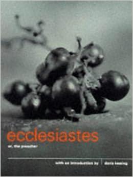 Ecclesiastes: The Canon Pocket Bible Series