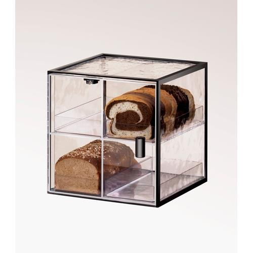 Cal-Mil 1720-4 Bread Case, 13'' Height, 13'' Width, 12.25'' Length, Iron