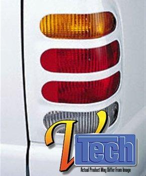 V-Tech 1377470 Fuel Lid cover 3D Bighorn (Bighorns Tail Light Covers)