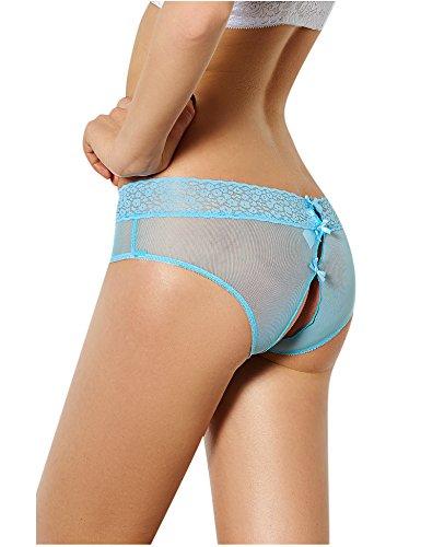 Sous Sexy Bleu Culotte Couleurs 3 vêtements Acvip Femmes Dentelle Lingerie xqUz5BX