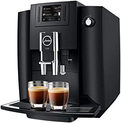JURA E60 Piano Black Independiente Máquina espresso Negro 1,9 L 16 ...