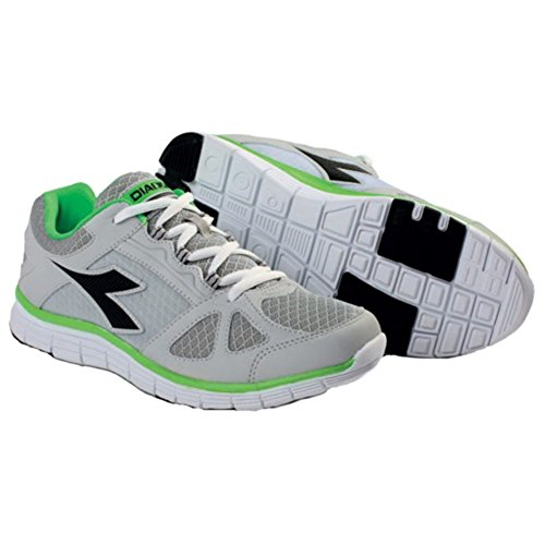DIADORA RUNNING 3 ZAPATILLAS HAWK GRIS Y NEGRO gris Talla:Diadora 9.5 - IT 44 - USA 10