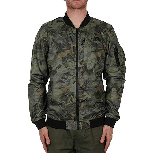 The North Meaford Giacca Green Bomber Camo Face N0mw8n