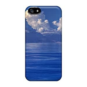 Anti-scratch Case Cover LastMemory Protective Mighty Volcanic Isl Case For Iphone 5/5s