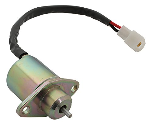 New 12V Shut Down Solenoid for Kubota B1700HSE, BX22D, F2260, F2560 16616-60010, 16616-60013, SA-4569-T, 1503ES-12A5UC5S, 17594-60014, 17454-60010, 16616-60015 12V DB Electrical