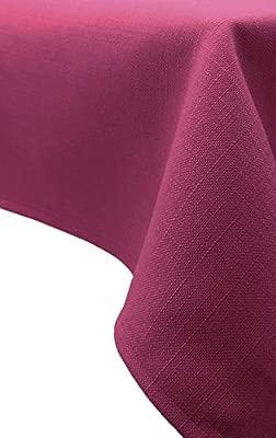 ZOLLNER® Mantel/Mantel Rectangular Antimanchas resinado, Color Frambuesa, Medidas 140x180 cm, Medidas, del especialista en Textiles para hostelería, ...