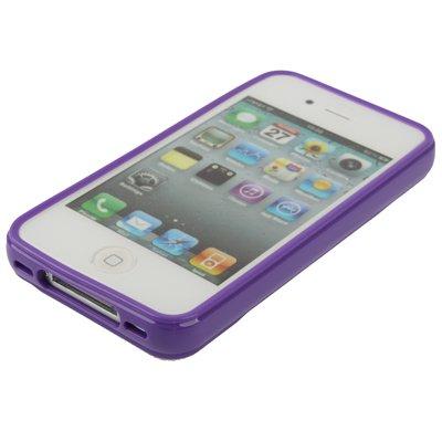 "Original THESMARTGUARD iPhone 4S / 4 Case im ""Diamant-Style"" - lila"