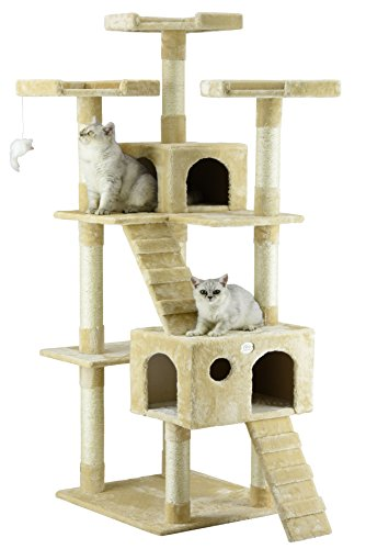 Condo Wood Cat (Go Pet Club 72