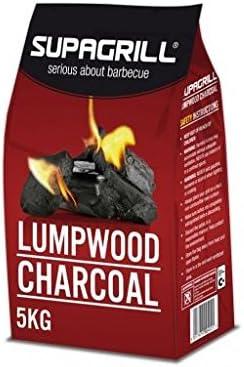 Carbón vegetal para barbacoas de tapa y braseros de mesa: Amazon ...
