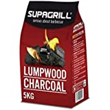 Supagrill 5KG Bag Lumpwood Charcoal For BBQs