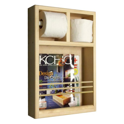Wood Cabinets Direct Orchard on The Wall Magazine Rack/To...