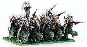 Warhammer Fantasy Dark Elves Foncé Elfes Cold One Knights Lézard Chevalier NEW NEUF