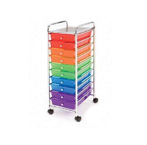 Seville Classics 10 Drawer Organizer Multi color product image