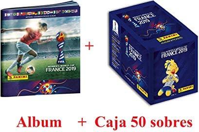 worldcuppanini Album + 50 Sobres FIFA WomenS World Cup France 2019: Amazon.es: Juguetes y juegos