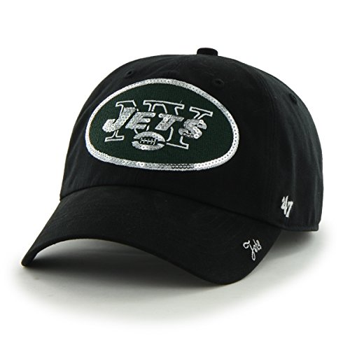 7df92c459ce coupon code nfl new york jets womens 47 sparkle sequin clean up adjustable  hat d1a0b 7a59a