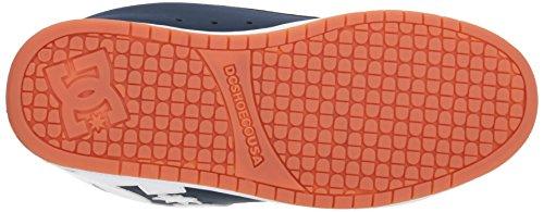Royal da Uomo Court Graffik Scarpe Navy DC Skateboard qxt01w0n