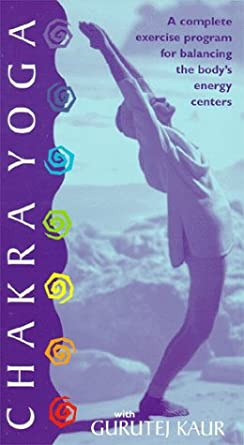 Amazon.com: Chakra Yoga [VHS]: Gurutej Kaur: Movies & TV