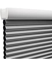 Cordless Blackout Cellular Shade, Window Shades and Blinds Honeycomb Shades for Window Door Home Office, Thermal Insulated UV Protection Soundproof Cordless Cellular Blinds, Easy to Pull Down & Up