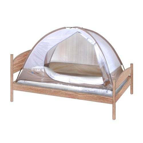 Eco-keeper Bed Bug Tent-(Single)Preventing Bed Bugs While Traveling. bed bugs protection. Are Bed bug Still Biting at Night? Don't Lose anymore Sleep !
