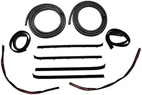 Inner /& Outer Window Sweep Felt Kit Set of 4 for Jimmy Blazer C//K Pickup Truck