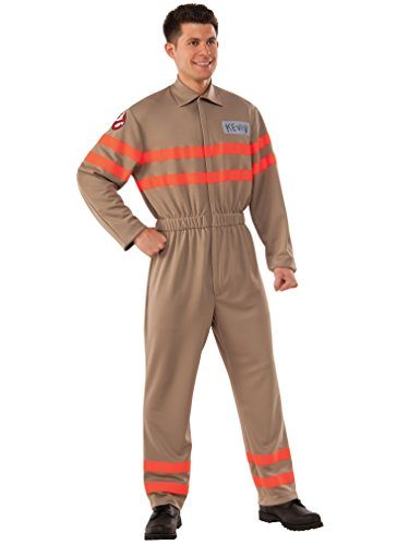 Rubie's Men's Movie Deluxe Kevin Ghostbuster Jumpsuit, As Shown, Extra-Large