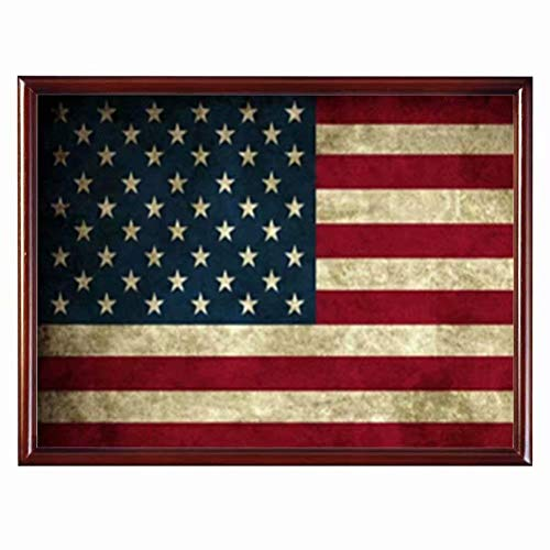 YOMIA DIY American Flag Cross Stitch Patterns Diamond Painting Full Drill Paint by Numbers, 5D Painting Arts Craft Embroidery Painting Pictures
