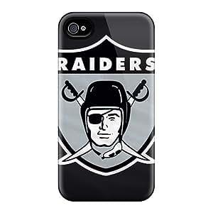 New SWz1336pTBG Oakland Raiders Skin Case Cover Shatterproof Case For Iphone 4/4s by icecream design