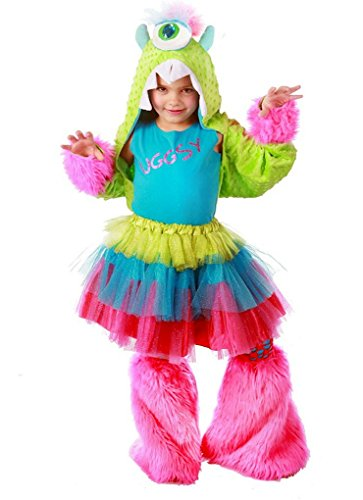 [UGGSY Monstar - Premium Monster Dress-Up Role Play Halloween Costume Set for Girls by Princess Paradise (Child Sm/Med(6 to 8)] (Girls Monster Halloween Costumes)