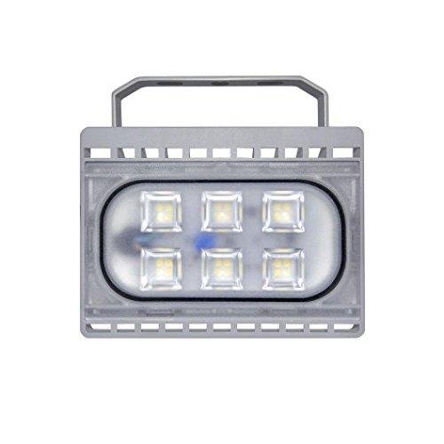 LED Light, Hunzed Top Quality CE LED Light slim Led Floodlight LED Garden Yard Light Night Lamp (20W)