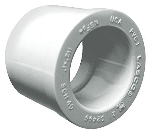 """2"""" Spigot x 1-1/2"""" Socket PVC Reducing Bushing"""