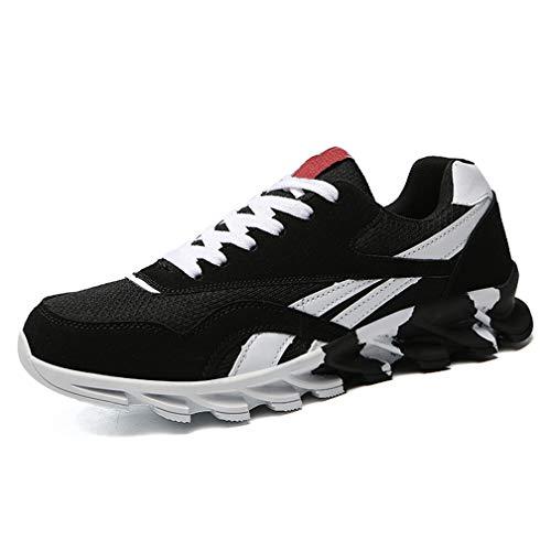 De Hombres Estudiantes Superior Zapatos Negro De HDWY Nivel Estudiantes Hombres Los De ab1601