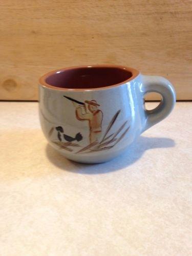 Vintage Stangl Pottery Trenton New Jersey Hunter Coffee Tea Mug 3896