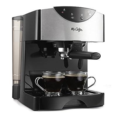 Mr. Coffee Automatic Dual Shot Espresso/Cappuccino System, ECMP50 from Mr. Coffee