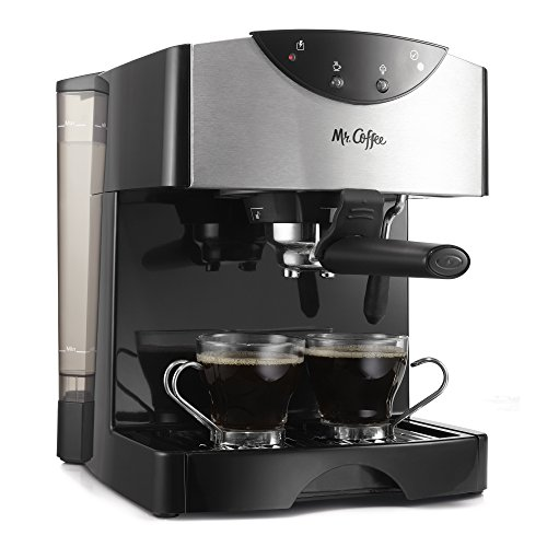 Double Espresso Maker (Mr. Coffee Automatic Dual Shot Espresso/Cappuccino System)